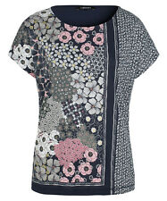 OLSEN T-Shirt COSIMA GR.38 *NEU* Cape-Ärmel Blumen-Print Sommer Bluse Oberteil