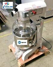 New 27 Quart Mixer Machine 3 Speed Commercial Bakery Kitchen Equipment Nsf