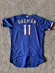 Ronald Guzman HOME RUN JERSEY Nike Texas Rangers Game Used ST Jersey 2020