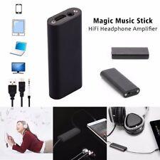 Portátil HiFi Amplificador De Auriculares 3.5 Mm Audio Recargable Para Auricular