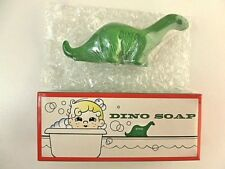 Sinclair Gas and Oil Dino Soap Brontosaurus Dinosaur Green Soap in Box New