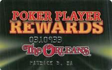 Orleans Casino - Las Vegas, Nv - Slot Card