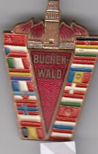 pin badge anstecknadel BUCHENWALD Nazi CONCETRATION CAMP Germany Jewish