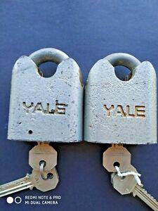 Vintage 1 Yale Lock WW2  Heavy Duty Naval Dockyard Issue. VG Cond.