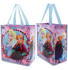 NEW Disney Store Frozen Elsa and Anna Sisters Reusable Grocery Bag Tote Gift ECO
