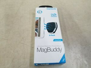Naztech Universal Magnetic Phone Mount MagBuddy 2-Pack