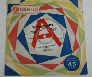 "Adam Faith – Stop Feeling Sorry For Yourself 1965 UK 7"" DEMO COPY EX+/EX HEAR"