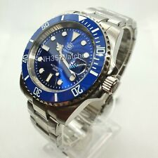 UK STEELDIVE SD1953 BLUE DIVE WATCH, SEIKO NH35, 300M, SUBMARINER HOMAGE