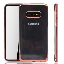 Samsung Galaxy S10e Hülle Case Handy Cover Schutz Tasche Schutzhülle Bumper Pink