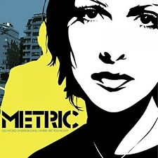 Metric - Old World Underground Where Are You Now? [New Vinyl]