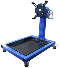 ENGINE STAND & OIL PAN 800 kgs WITH HEAVY DUTY WORM GEAR Part No. = ES2200GD