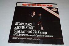 Byron Janis~Rachmaninoff Concerto No. 2 in C Minor~Antal Dorati~FAST SHIPPING