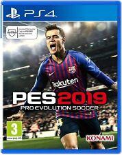 PES 2019 Pro Evolution Soccer Playstation 4 ps4 ** FREE UK PORTO!!! **