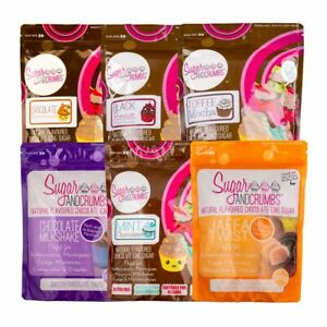 Sugar And Crumbs Icing Sugar 6 Assorted Chocolate Bundle Gluten and Nut Free
