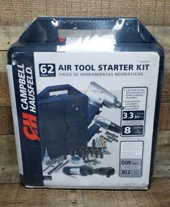 Campbell Hausfeld AT921099 62 Piece Air Tool Starter Kit  - BRAND NEW