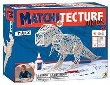 matchitecture junior 6801 t-rex streich holz modell bausatz neu freetracked 48 post