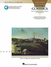 Hymn Classics The Vocal Library Low Voice Collection Book and Audio 000740032