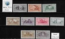 WC1_9210. IT. COL.:ERITREA. 1930 BIMILLENARIUM VIRGILIUS set. Scott 134-142. MLH