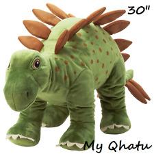 "Ikea Jattelik Dinosaur Stegosaurus Large Soft Stuffed Animal 30"" New"