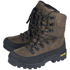 Jack Pyke Hunters Boots Waterproof Leather Mens Hunting Footwear Vibram Brown