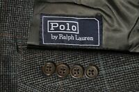 Polo Ralph Lauren Men's Plaid Sport Coat Jacket Blazer Size 42R