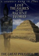Lost Treasures Of The Ancient World - The Great Pyramids. New DVD