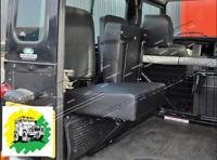 Land Rover Defender Individual Rear Inwards Facing Seat In Black DA4067