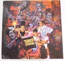 "SALT N PEPA Signed Autograph ""Blacks' Magic"" Album Vinyl LP by All 3 Members RAP"