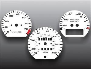 1988-1993 VW Passat White Face Gauges 88-93