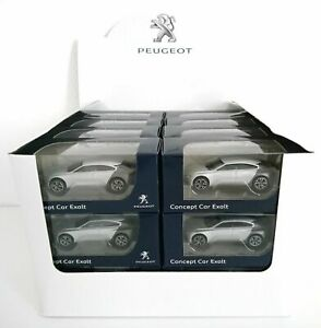 Lot de 24 Peugeot Concept Car EXALT - 3 inches NOREV REVENDEUR DESTOCKAGE 312014