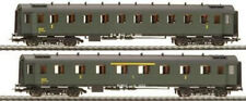 HO Gauge Liliput L350006 SNCF Coach Set Ep III Green 1/2 & 3 Ex-Shop Stock LNIB