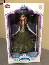 Disney Store Designer  2015 Frozen Princess Anna Doll LE of 5000 W COA