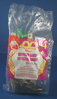 Disneys Inspector Gadget  1999 McDonalds Part 4 LeftLeg Tool MIB