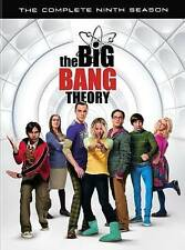The Big Bang Theory: Complete Ninth Season 9 (DVD, 2016, 3-Disc Set) - New