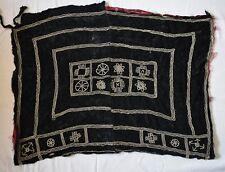 Antique Handmade beaded Rashaida Sudan Tribal Bedouin Velvet Fabric/ Headdress