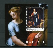 Tuvalu 2012 MNH Raphael 1v S/S Art Paintings St Margaret