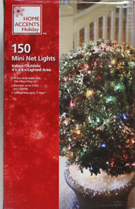 150 Count Multi-Color Net Lights for Christmas  NIB