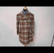"Women's VINTAGE 80'S WINTER COAT BROWN 12-14 34/36"" GOOD SKU No U632"