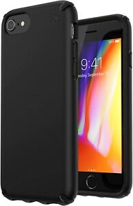 Speck Presidio Case for iPhone SE 2020 & iPhone 8, 7, 6S, 6 - Bulk Packed- Black