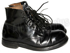 CANADIAN ARMY ANKLE / PARADE CADET BOOTS - SIZE 8.5 WIDE - 1731R129C