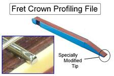 GuitarTechs FRET CROWNING FILE Sanding Stick for Guitar / Bass Luthier Tool