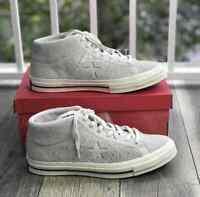 Sneakers Men's Converse One Star Mid Top Suede Egret Egret 157702C