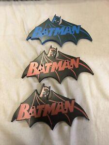 DC Direct Icons Universe Classics Hush Batman Figure Stand Red Blue A2