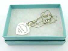Tiffany & Co. Blue Sterling Silver Fine Jewellery