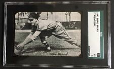 Louis Cardinals Card St Kneeling 1947 1947-66 Exhibits W461 #STMU Stan Musial
