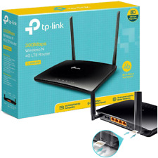 TP-Link TL-MR6400 Router WIRELESS 4G LTE, Wi-Fi N300 CON SIM SCHEDA MOBILE DATI