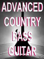 Advanced Country Bass Guitar DVD Lessons 4 all styles. Cool Walking Patterns Too