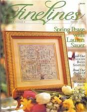 FineLines Magazine Spring 1999 Vol 3 No 4.  Copy