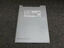 1992-1997 Audi S4 S6 Transmission Quattro Service Repair Manual 1994 1995 1996