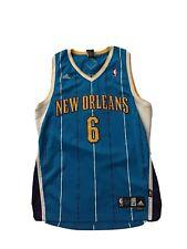 """Adidas NBA Mens Sz M New Orleans """"HORNETS"""" #6 Chandler Jersey"""